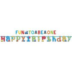 balony, balony na hel, dekoracje balonowe, balony Łódź, balony z nadrukiem, Baner 165 x 50,8 cm All aboard wpisz imie