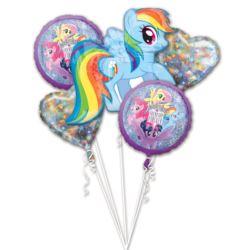 """Bukiet balonow foliowych """"MLP Friendship Adventure"""