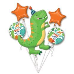 Bukiet balonow Dino-Mite Partybalon 5szt.