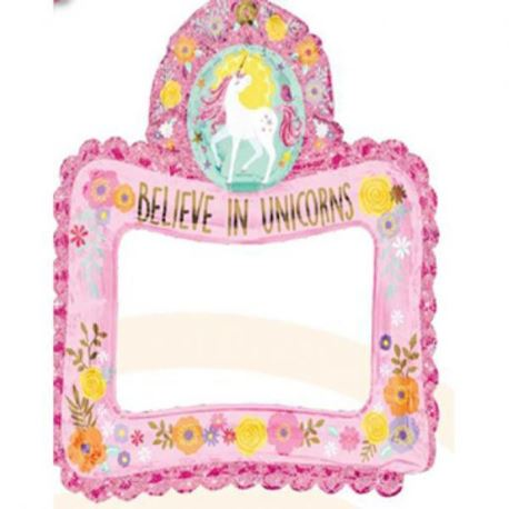"Balon foliowy ""Magical Unicorn"""