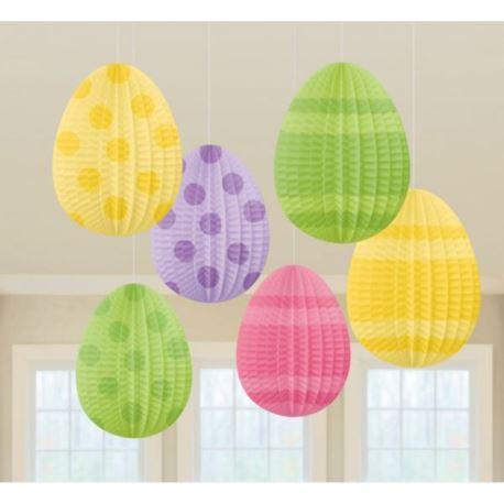 Dekoracyjnych jajeczek 10 cm / 6szt.