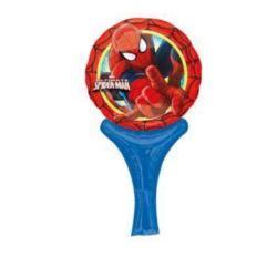"""Balon, foliowy 14"""" z rączką i zaworem - """"Spider-Ma"""