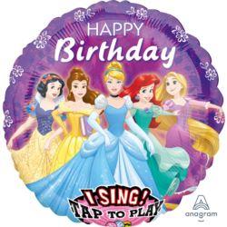 Balon grający Disney Princes HB 71 cm