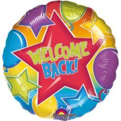 "Balon, foliowy ""Welcome Back"""