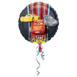 """Balon foliowy grajacy """"Auta 3"""""""