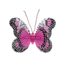 Skrzydła Butterfly 37x48 cm, c. różowe