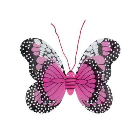 Image of Skrzydła Butterfly 37x48 cm, c. różowe
