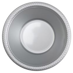 Miski 355ml - srebrny, 10 szt.