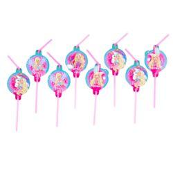 Słomki Barbie Dreamtopia 8 szt.