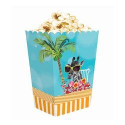 """Pudełko na popcorn """"Hawajskie Party"""", 4 szt."""