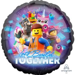 "Balon foliowy 18"" ""Lego Movie 2"" 1szt."