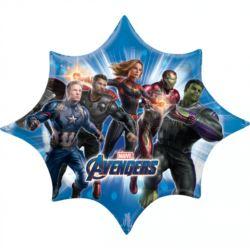 """balony, balony na hel, dekoracje balonowe, balony Łódź, balony z nadrukiem, Balon foliowy """"Avengers Endgame"""" 88cm x 73cm"""
