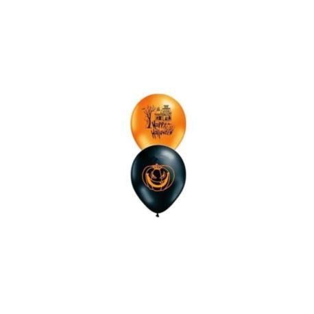 Balony gumowe Helloween 6szt.