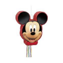 balony, balony na hel, dekoracje balonowe, balony Łódź, balony z nadrukiem, Piniata Micky Mouse, 50 x 46 cm