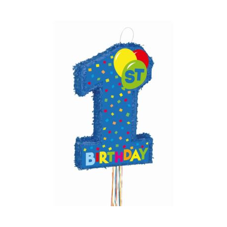 Image of Piniata 1st Birthday Boy, 56 x 36 cm