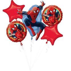 "Bukiet balonów ""Ultimate Spider-Man"" 5 szt."