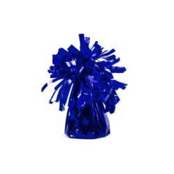 balony, balony na hel, dekoracje balonowe, balony Łódź, balony z nadrukiem, Ciężarek do balonów, foliowy, k. niebieski 1 szt.