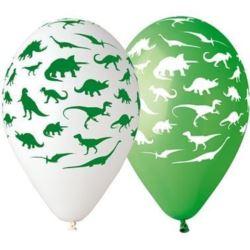 "Balony Premium ""Dinozaury"",12"" / 5 szt."