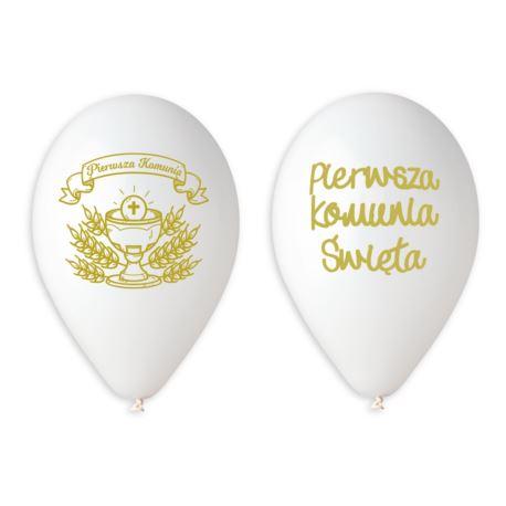 Balony Premium Hel Pierwsza Komunia (z napisami),