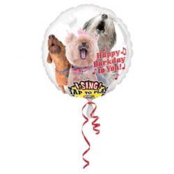 """Balon, foliowy grający"""" Happy Bark Day to You"""""""