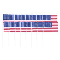 balony, balony na hel, dekoracje balonowe, balony Łódź, balony z nadrukiem, Piker flaga USA 120 szt. 6,5 cm
