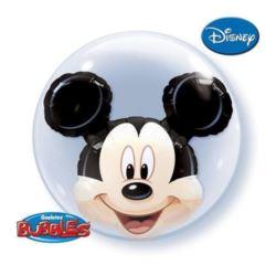 "Balon, foliowy 24"" QL Bubble Pod ""Mickey Mouse"""