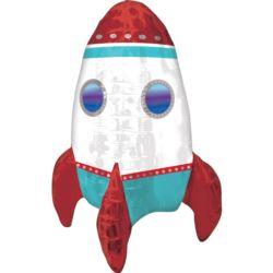 Balon foliowy RAKIETA satek kosmiczny KOSMOS