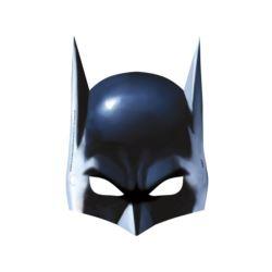 Maseczki papierowe Batman, 8 szt.