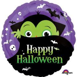 """balony, balony na hel, dekoracje balonowe, balony Łódź, balony z nadrukiem, Balon foliowy standard """"Halloween Drakula"""" 43cm"""