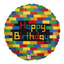 Balon Grabo 18'' HB Blocks