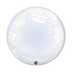"Balon foliowy 24"" QL Bubble Deco''Prezenty"""