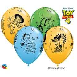 Balon QL 12 cali z nadr. Toy story 4 / 6 szt.