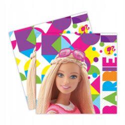 Serwetki 20 szt. Barbie Sparkle 33x33 cm