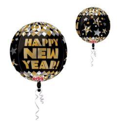 Balon, foliowy kula Nowy Rok