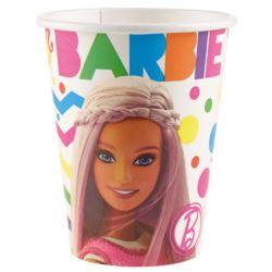 Kubki Barbie Sparkle 250 ml 8szt.