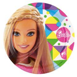 Talerze 8 szt. Barbie Sparkle 23 cm
