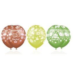 """Balony Premium """"Wesołych Świąt (Wielkanoc)"""""""