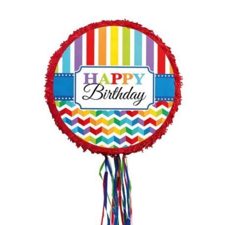 Piniata Happy Birthday