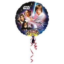 """Balon, foliowy grający """"Star Wars"""" 71x71 cm"""