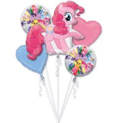 """Bukiet balonów """"Pinkie Pie"""" 5 szt."""