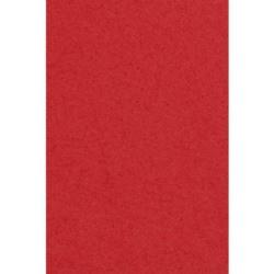 Obrus papierowo- foliowy 137x274 cm - czerwony