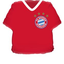 Balon foliowe w kształcie koszulki FC Bayern