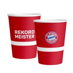 Kubek FC Bayern Monachium papier 500 ml / 6szt.