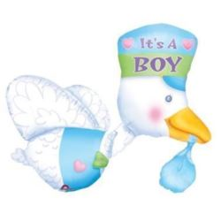 "Balon, foliowy AWK ""Its a Boy Stork"""