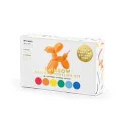 Balony modeliny pastelowe 130cm z pompką, mix