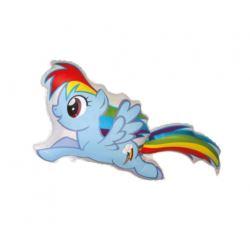 """balony, balony na hel, dekoracje balonowe, balony Łódź, balony z nadrukiem, Balon foliowy 24"""" FX - """"Kucyki: Rainbow Dash"""""""