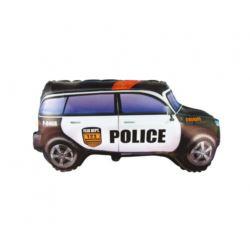"""balony, balony na hel, dekoracje balonowe, balony Łódź, balony z nadrukiem, Balon foliowy 24"""" FX - """"Police Car"""", pakowany"""