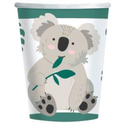 Kubki Koala Paper 250 ml / 8 szt.