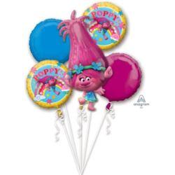 """balony, balony na hel, dekoracje balonowe, balony Łódź, balony z nadrukiem, Bukiet balonow """"Trolle"""""""