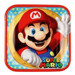 Talerze Super Mario 23 cm 8 szt.